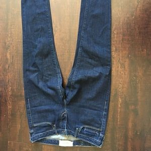 Levi's made and crafted dark wash pins skinny